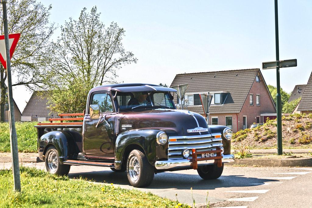 Chevrolet 3100 Pick-Up Truck 1954 (9669)