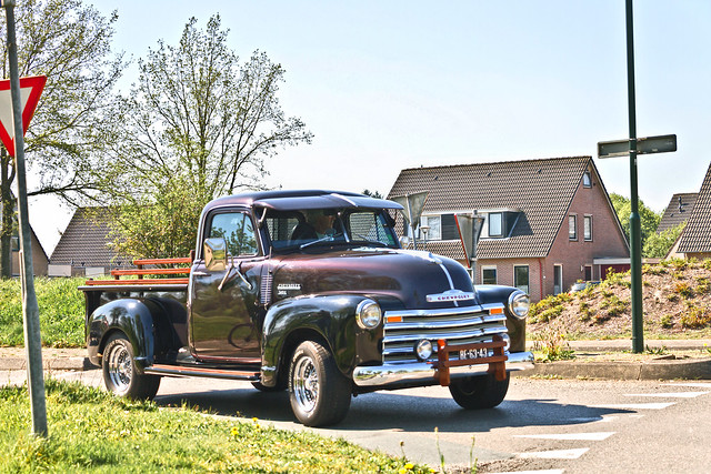 Chevrolet 3100 Pick-Up Truck 1954 (9669)