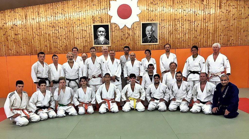 les judokas à Dijon