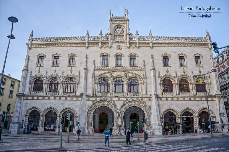 2018 Portugal Lisbon Rossio Railway Station 01