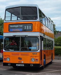NEBPT Metrocentre Bus Rally 2019 - JFT413X