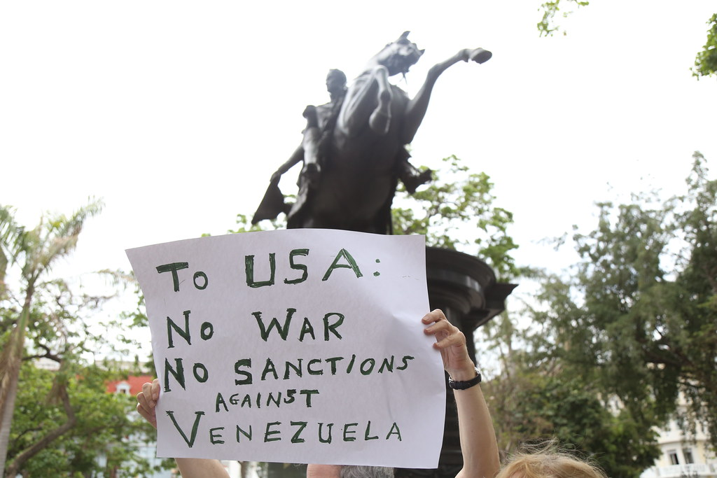 Desde Caracas Movimientos sociales estadounidenses expresan su apoyo a Venezuela