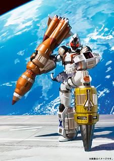 被跳過的宇宙終於來啦——!『S.I.C.』x『METAL BUILD』《假面騎士Fourze》假面騎士Fourze 基本型態(仮面ライダーフォーゼ ベースステイツ)