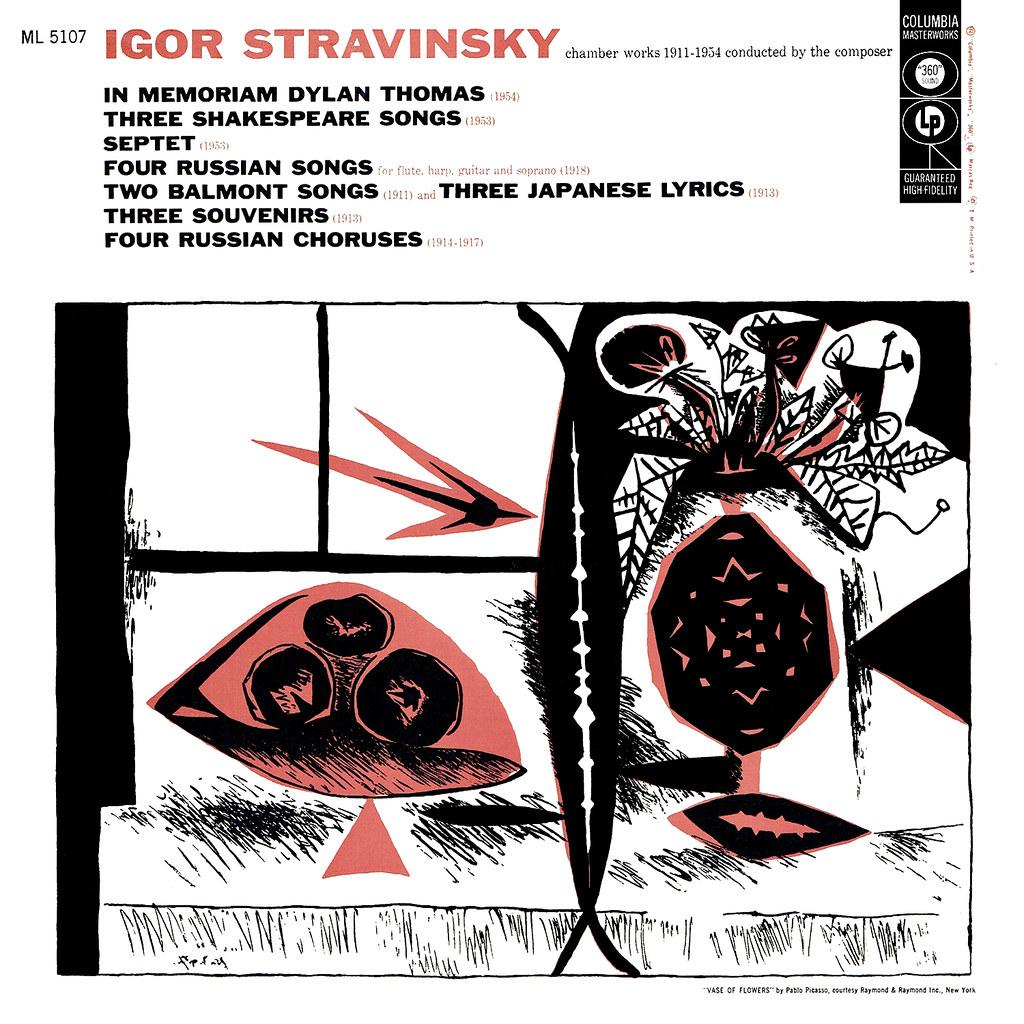 Igor Stravinsky - Chamber Works