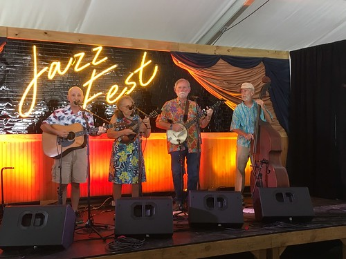Hazel & the Delta Ramblers play the Rhythmpourium on Day 8 of Jazz Fest - 5.5.19. Photo by Bob Rodrigue.