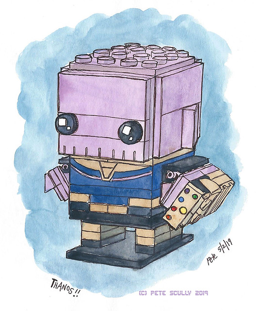 Lego Brickheads Thanos