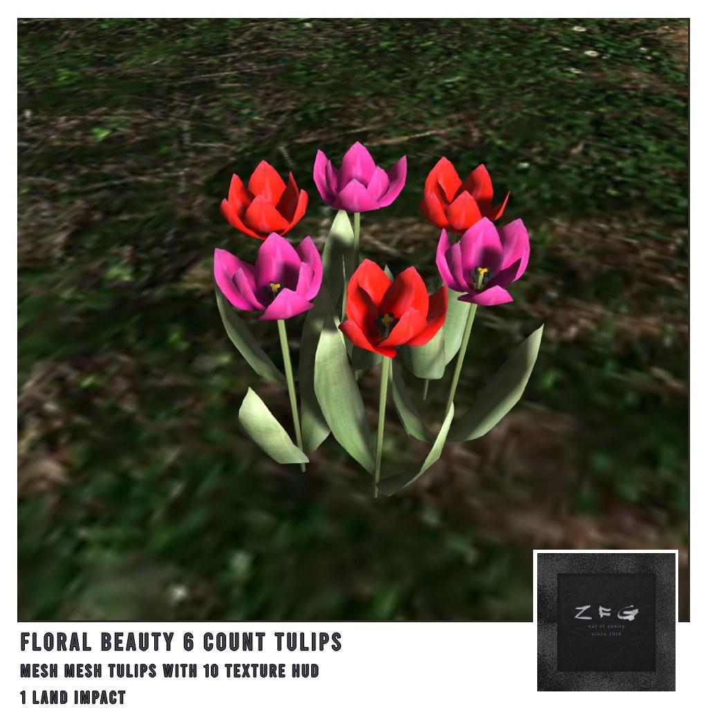 {zfg} home floral beauty 6 tulips - TeleportHub.com Live!