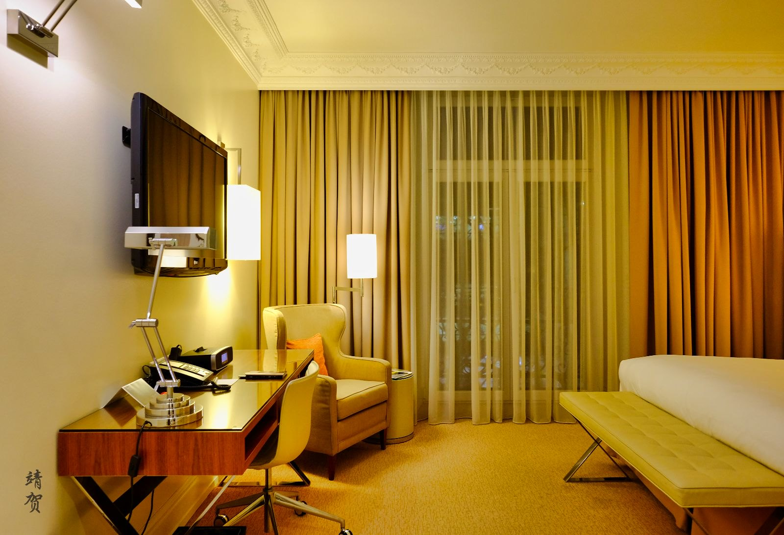 Inside the Deluxe room