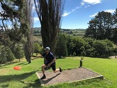 Frisbee Golf at Mclaren Falls