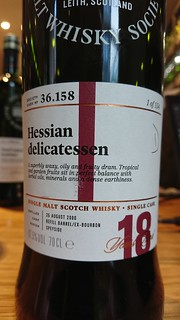 SMWS 36.158 - Hessian delicatessen