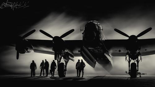 Lincolnshire Aviation Heritage Centre Avro Lancaster B.VII G-ASXX NX611-26
