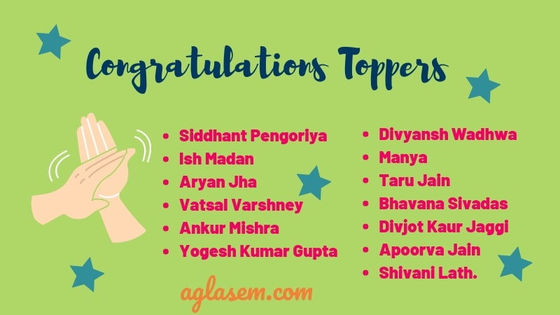 CBSE Class 10 Toppers