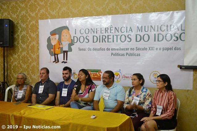 I Conferência da Pessoa Idosa  em Pires Ferreira