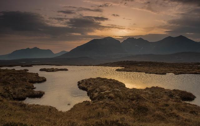 A Sunset Lochan ..