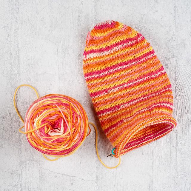 Start of a sock