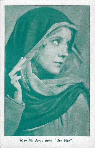 Betty Bronson as the Virgin Mary in Ben-Hur (1925)