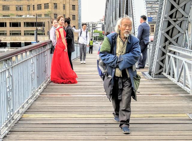Two comedies on the Garden Bridge, #Shanghai