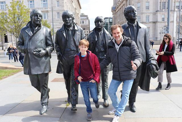 Donde está la Estatua Beatles en Liverpool