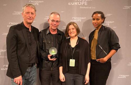 CE19 - Award Ceremony // Ralph Eue (International Jury), Thomas Heise (Winner Social Awareness Award - best Documentary), Oksana Sarkisova, Djamila Grandits (both International Jury) //photo © Christoph Thorwartl / subtext.at