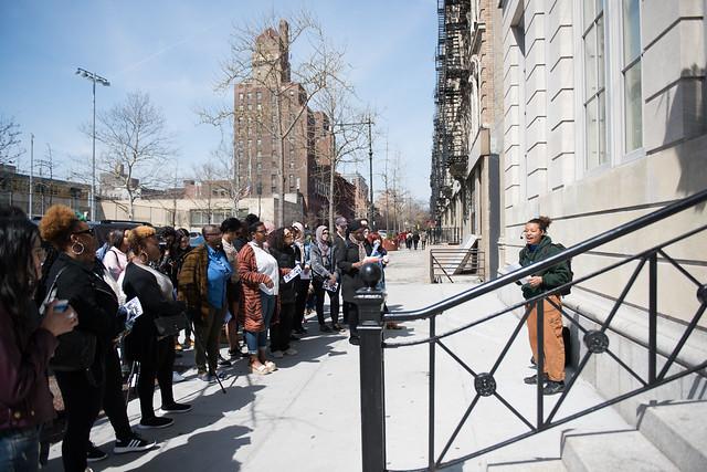 """BCRW """"The Radical Black Women of Harlem Walking Tour"""""""
