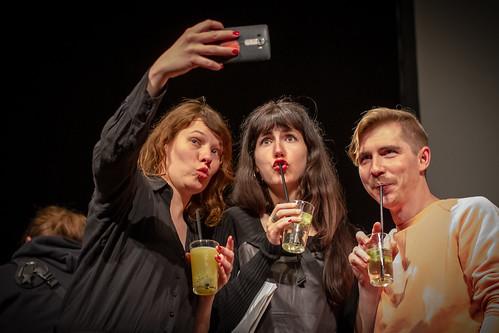 CE19 – awards ceremony // Katharina Riedler, Zorah Zellinger, Michael Zeindlinger // photo © a_kep / subtext.at