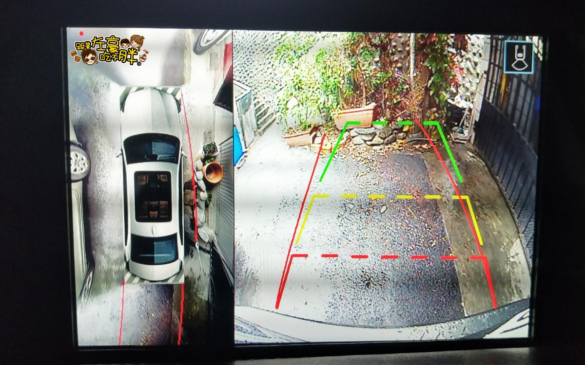 NX200安裝環景盲點解鏡像(台南博勝汽車音響)-29