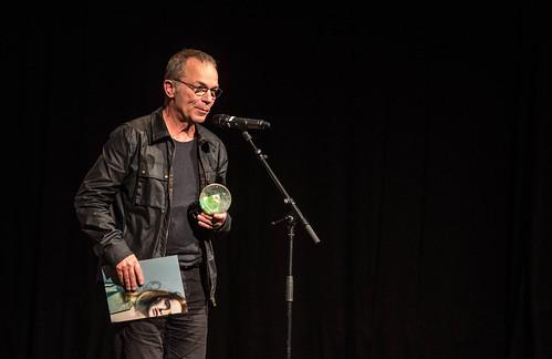 CE19 - Award Ceremony // Thomas Heise (Winner Best Documentary) //  photo © Christoph Thorwartl / subtext.at