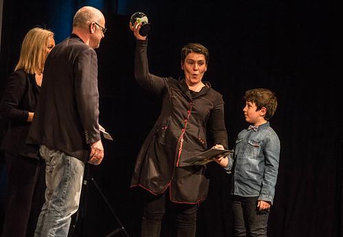 CE19 - Award Ceremony // Nadejda Koseva (Winner Audience Award) // photo © Christoph Thorwartl / subtext.at