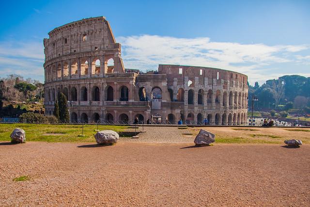Colosseum Straight On