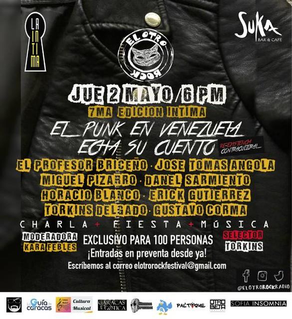 Flyer DEF 7MA CHARLA EL PUNK 2 MAYO (2)