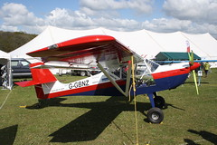 G-GBNZ Aeropro Eurofox [LAA 376-15476] Popham 040519