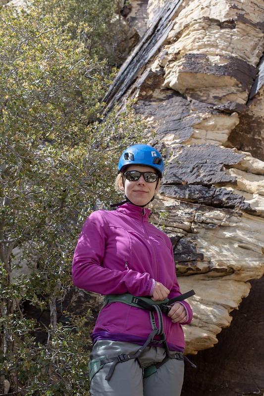 Bereit zum Klettern!