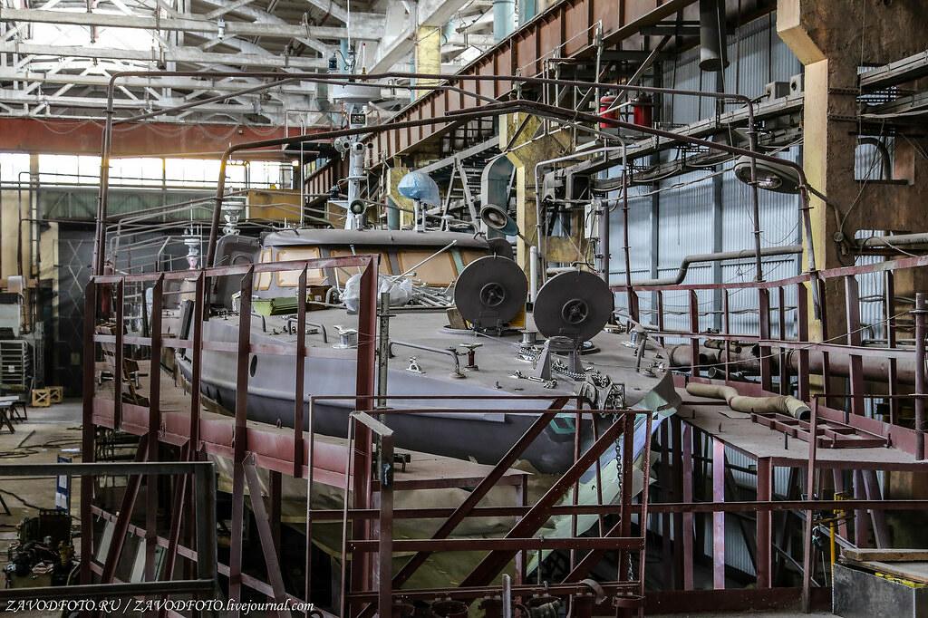 Великие заводы России: Судостроительный завод «Вымпел»