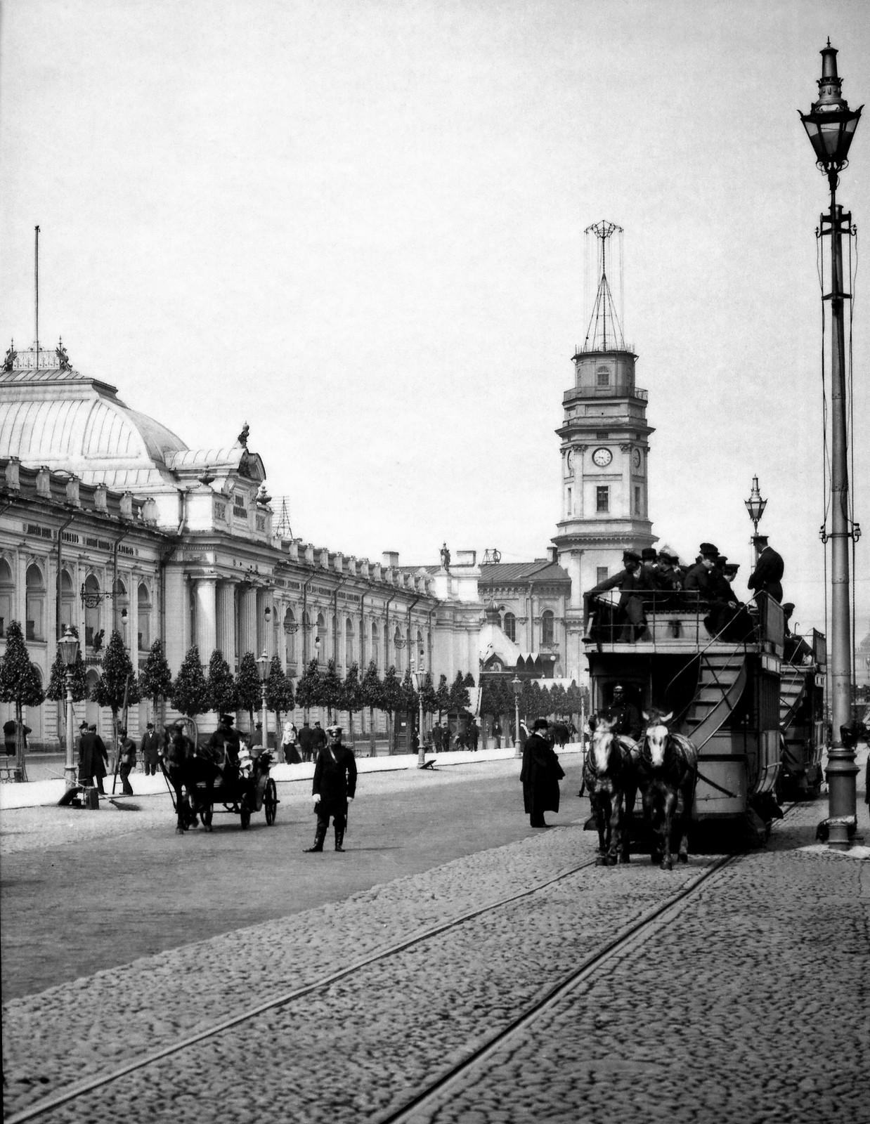 Невский проспект. 1902