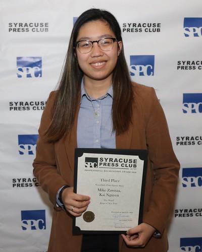 2019 Syracuse Press Club Awards