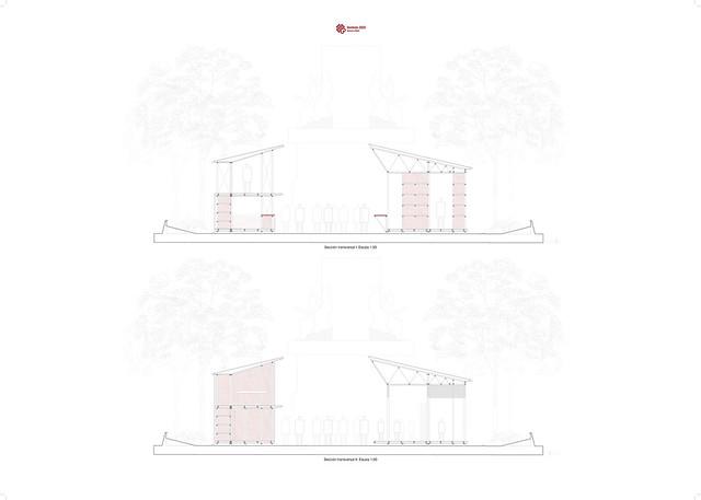 Tómbola de Cáritas. Taller de Proyectos III. 4º Arquitectura. 2018-19