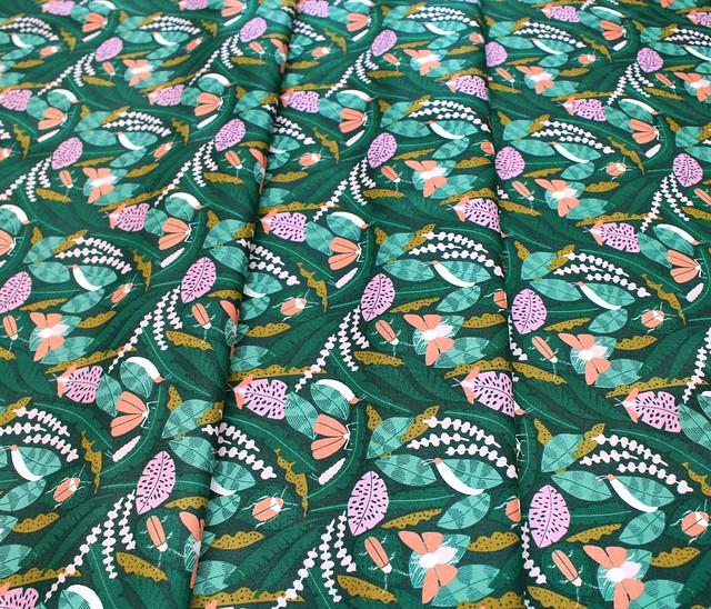 Cloud9 Fabrics Ethereal Jungle 213701 Creatures