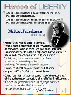 Milton Friedman — Heroes of Liberty