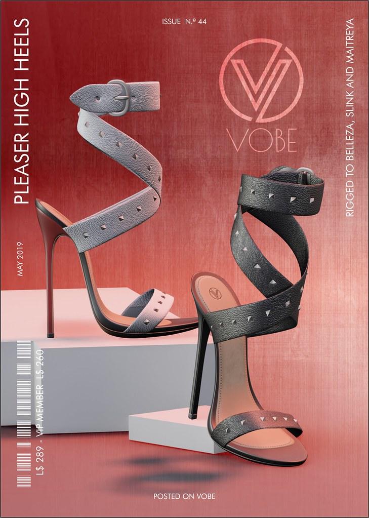 VOBE - Pleaser High Heels - TeleportHub.com Live!