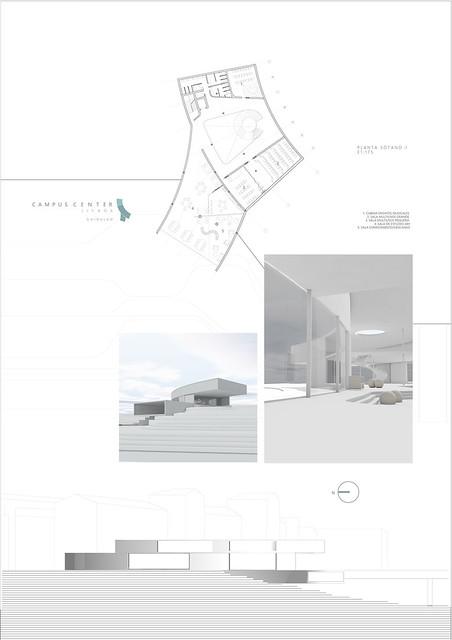 CAMPUS CENTER EN LISBOA. 4º Curso. Grado en Estudios de Arquitectura. 2018-19