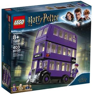 超高速的巫師專用公車再度上路~! LEGO 75957《哈利波特》騎士公車 The Knight Bus 情報公開!