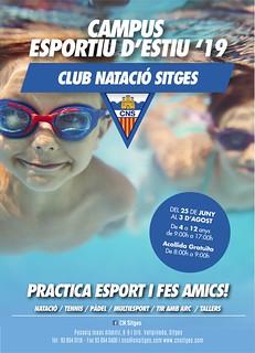 Esplai Verano 2019 Club Natació Sitges