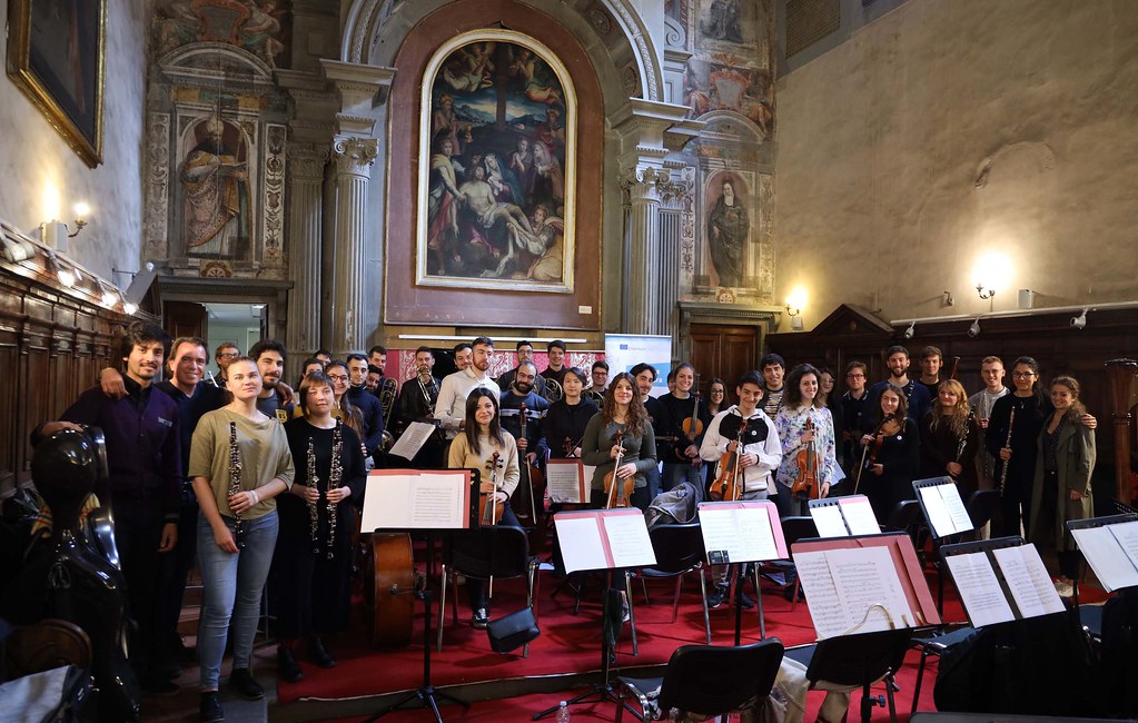 L' Orchestra Erasmus al Festival d'Europa 2019