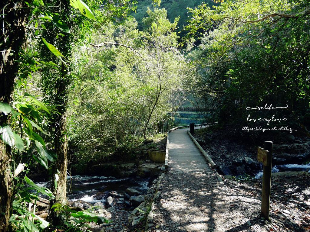 宜蘭礁溪登山踏青爬山林美石磐步道瀑布 (6)