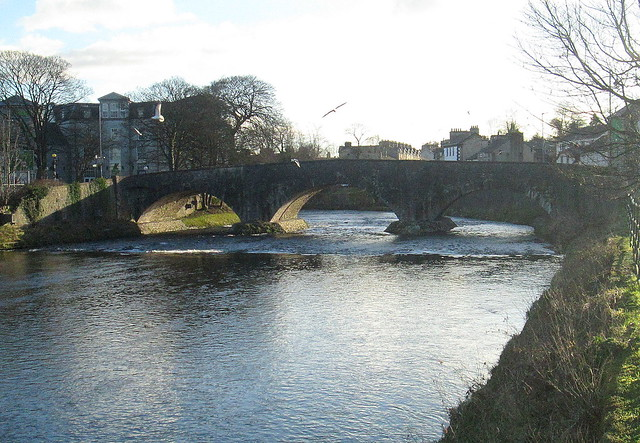 Bridge over River Kent, Kendal, Cumbria