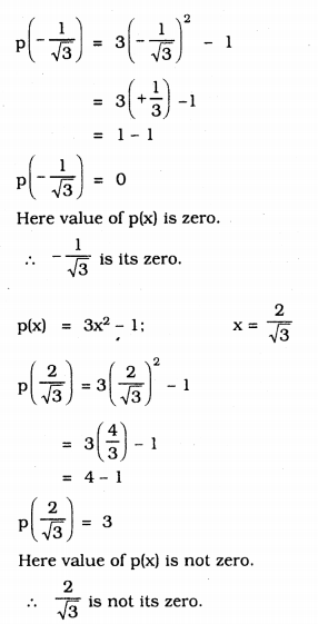 KSEEB Solutions for Class 9 Maths Chapter 4 Polynomials Ex 4.2 3