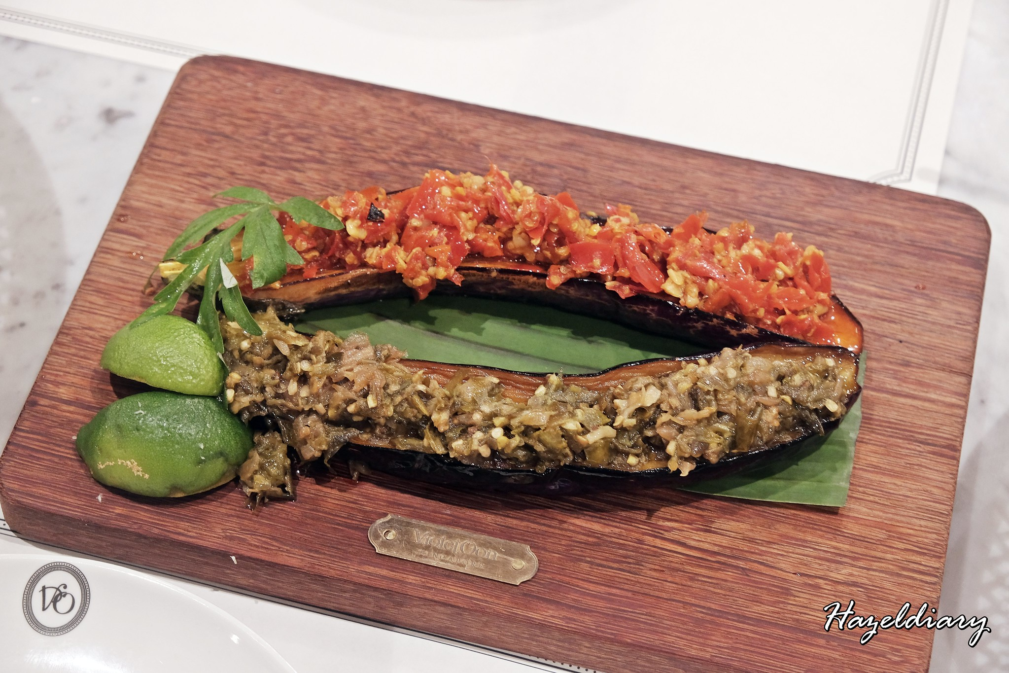Violet Onn Jewel Changi Airport-Eggplants with Sambal