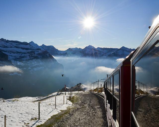 Como ir al Jungfraujoch desde Interlaken