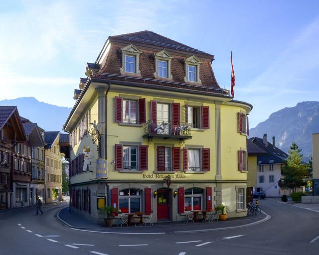 Nuestro alojamiento en Interlaken