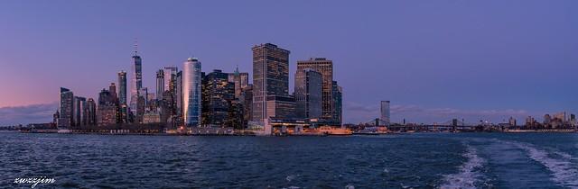 NY Manhattan nightscape 01